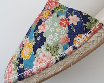 Lace-up flat espadrilles - JAPANESE LIMITED EDITION - made in spain - www.mumicospain.com
