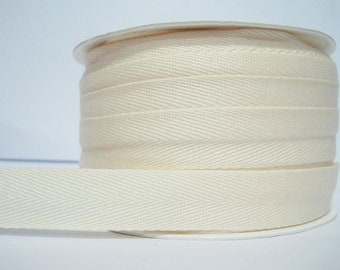IVORY COTTON TWILL espadrille laces - www.mumicospain.com