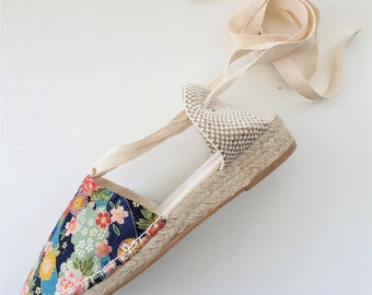 Lace-up Espadrille Mini Wedges - JAPANESE LIMITED EDITION - Made In Spain - www.mumicospain.com
