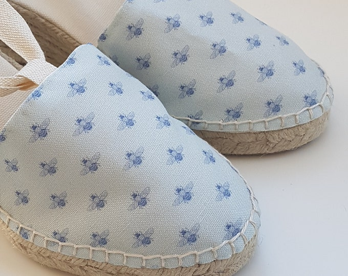 COLORFUL ESPADRILLE FLATS - Bichos Collection - made in Spain - ecologic, sustainable, vegan