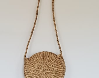 Water hyacinth shoulder bag -  WATER HYACINTH - made in Thailand