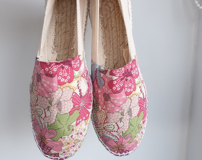 UNISEX ESPADRILLE FLATS - MumiCO 2021 CoLLECtion - Lace up - made in Spain - ecologic, sustainable, vegan