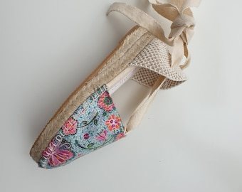 COLORFUL ESPADRILLE MiNi WEDGES - Bichos Collection - made in Spain - ecologic, sustainable, vegan