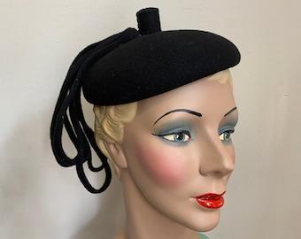 Vintage 1940s Beret / Beanie