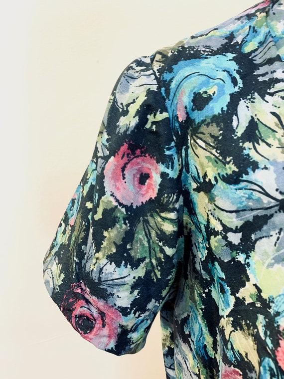 1940s / 1950s Handmade Dress | Size Large - image 6