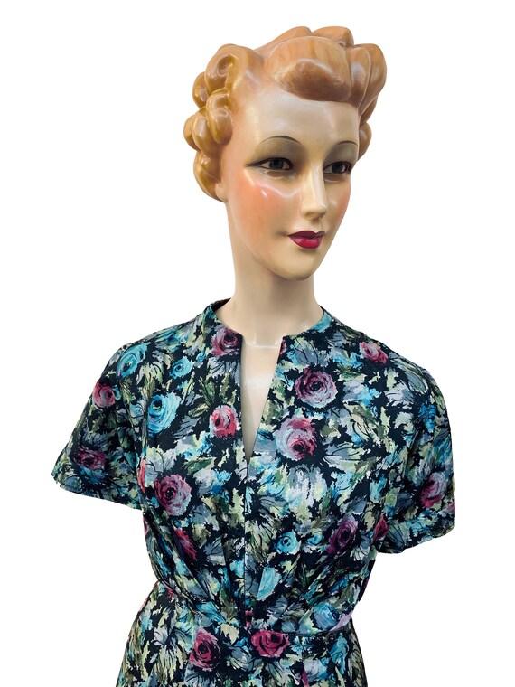 1940s / 1950s Handmade Dress | Size Large - image 4