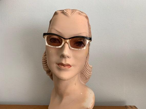 Vintage 1950's Marbled Frame Sunglasses