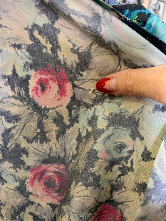 1940s / 1950s Handmade Dress | Size Large - image 8