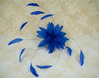 Feather Flower, Millinery Feather, Millinery Feather Flower, Hat Trimming, Feathers for Millinery, Fascinators & Crafts, 1 Piece