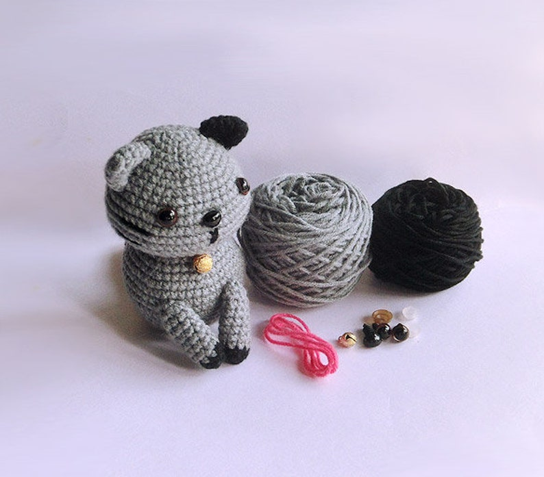 instructions Winey Teddy Bears making supplies including fur pattern,