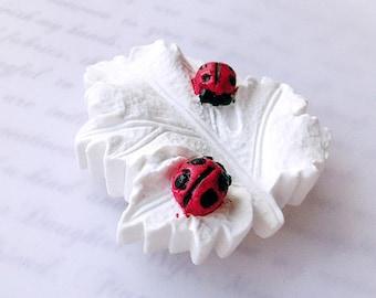Ladybug, Natural Clay diffuser, Essential Diffuser Oil, diffuser, diffuser for car