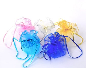 White Organza bag/purse