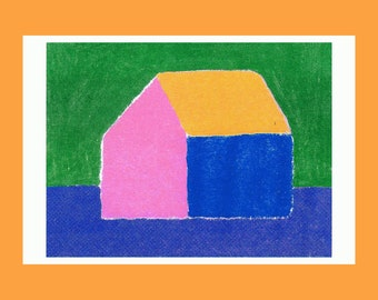 RISOGRAPHY SMALL HOUSE