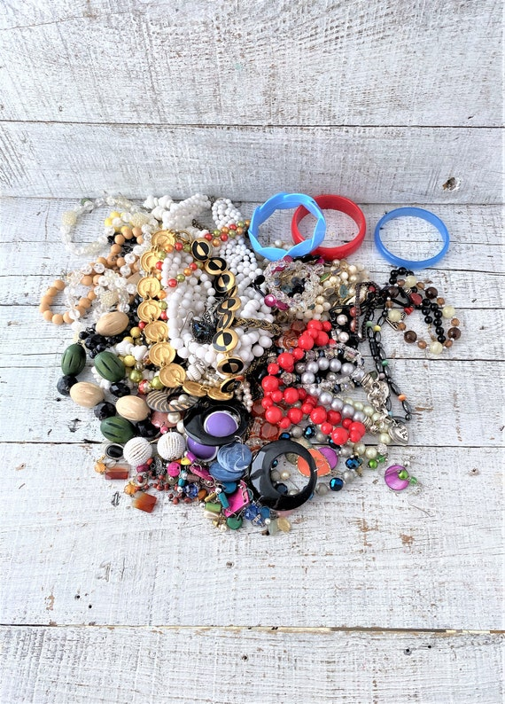 Estate Jewelry Lot 3.4 Pounds of Costume Jewelry W