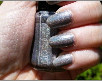 Quicksilver - The Magnum Opus Collection - Labracadabra Silver Holographic Nail Polish
