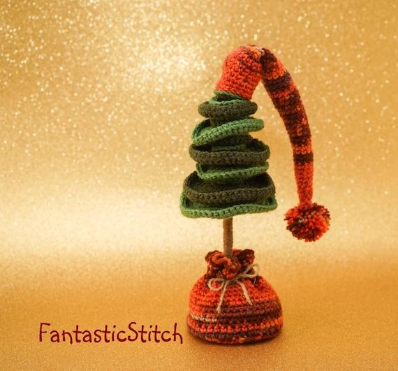 Häkelanleitung Tannenbaum Weihnachten Amigurumi Instant Etsy