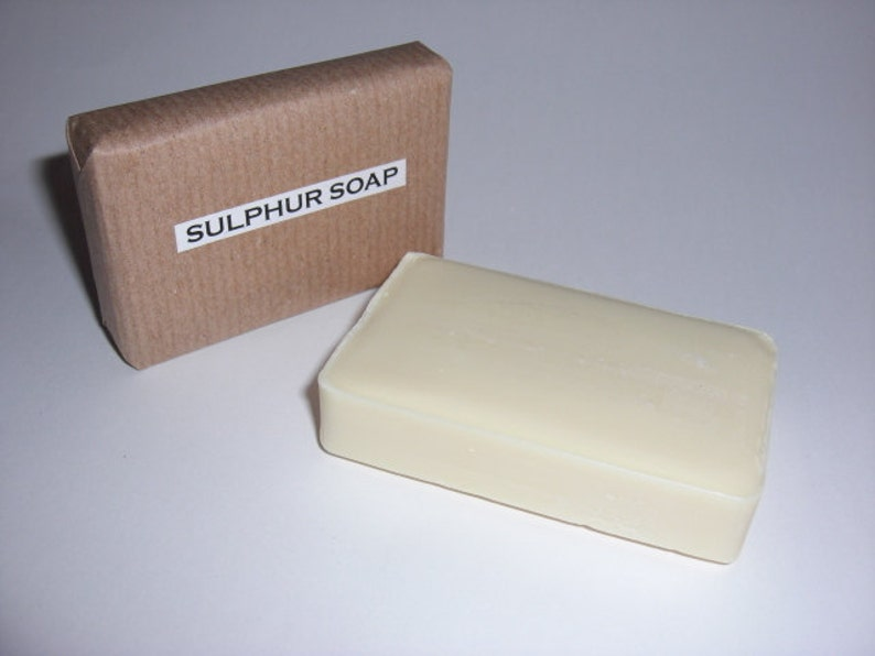 2 x 10% SULPHUR SOAP BARS-An effective treatment for many skin complaints,  including acne, psoriasis, eczema and dermatitus