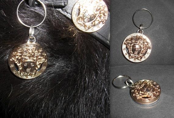 afd6c01e556 Versace All Gold Medusa Head Pet Dog Cat Designer