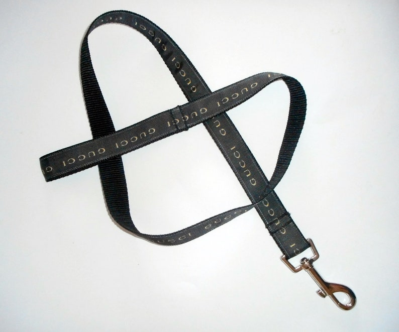 5c646900328 Designer Dog Leash-Designer Logo Dog Lead-Handmade in
