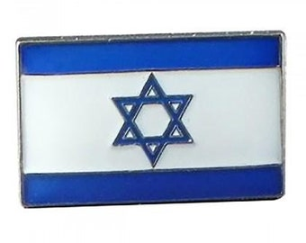T928 Pouch Personalised Israel Enamel Crested Key Ring