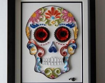 Mexican Calavera (Sugar Skull)