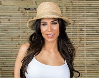 af16d361d6a Hatch Hats Women s Straw Sunhat Summer Travel Vacation Packable Gambler  Safari Fedora Hat