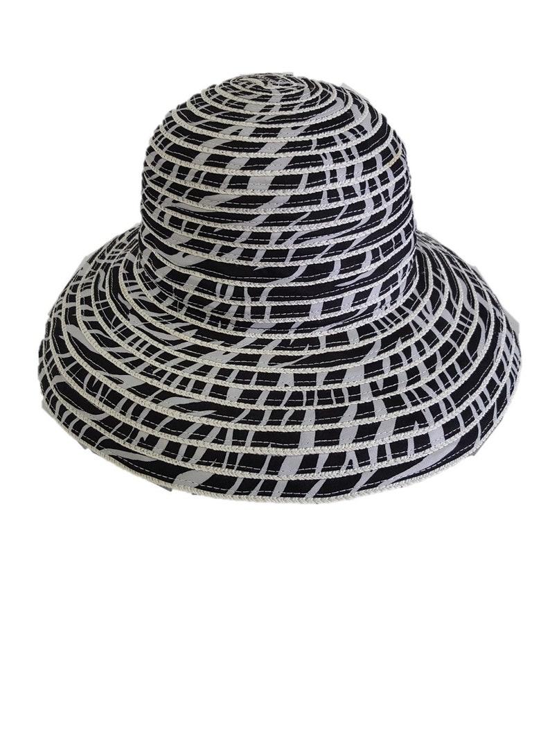 0ae4ee96 Summer Straw Fedora Gambler Floppy Women's Hats for Beach | Etsy