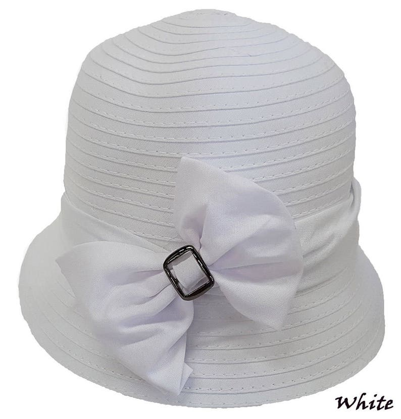 d4a078eb6fb Swan Hat Adjustable Demin Ribbon Package Crusable Womens Hat
