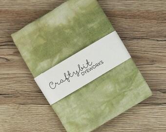 36ct Hand-dyed Zweigart Linen - Light Moss