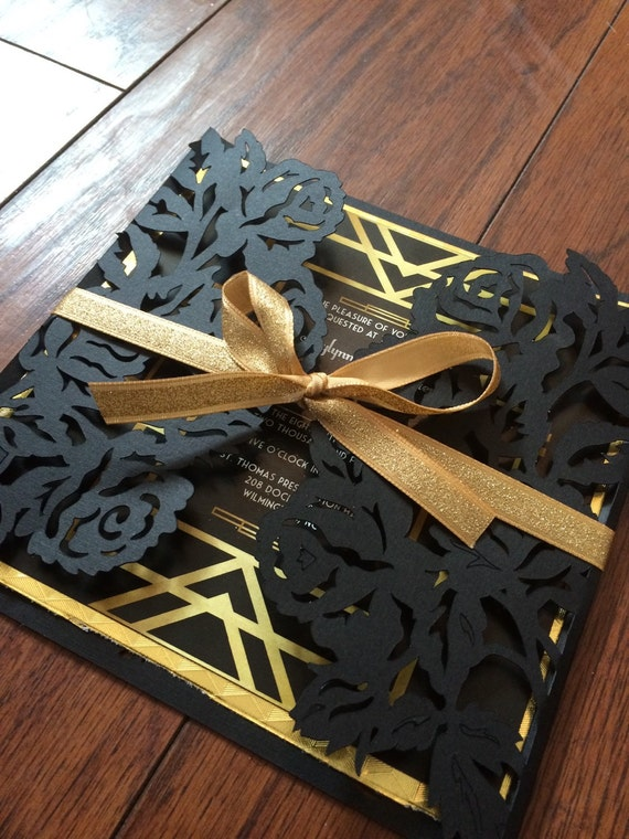 The Great Gatsby Invitations