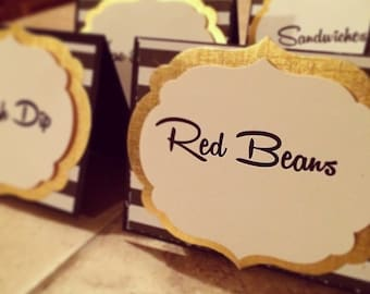 Party Tent Cards