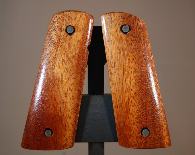 African Mahogany 1911 Full size Grips (G17)