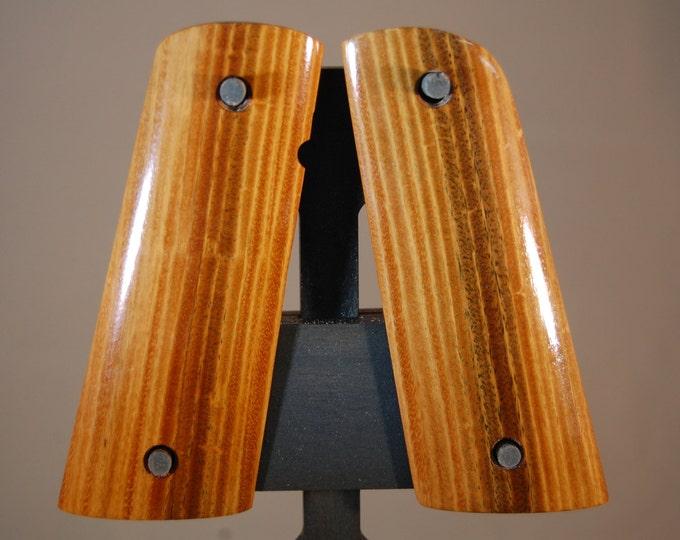 Lignum Vitae 1911 Full size Grips (F3)
