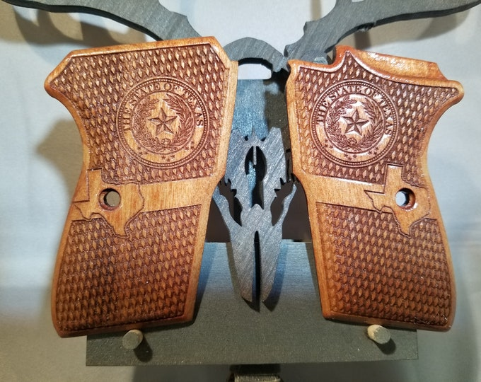 Bersa Thunder 380 Grips With Texas State Seal