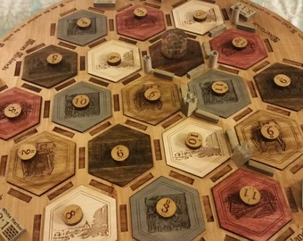 GAME OF THRONES Settlers of Catan Board Game (Complete game)