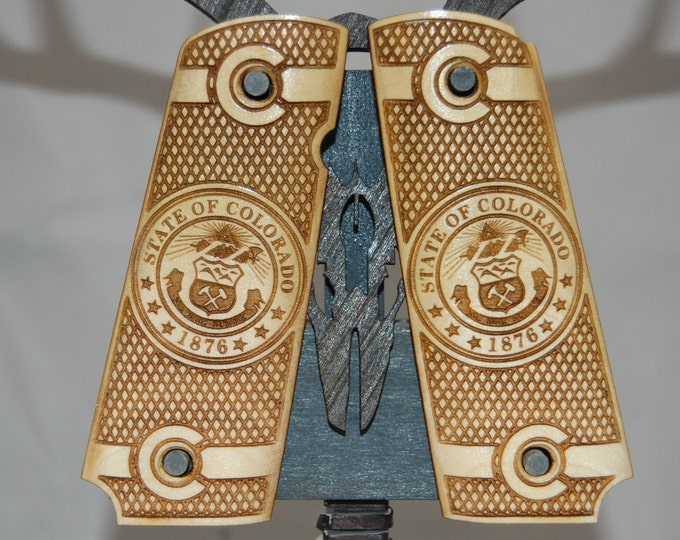 1911 Full Size COLORADO Seal Grips