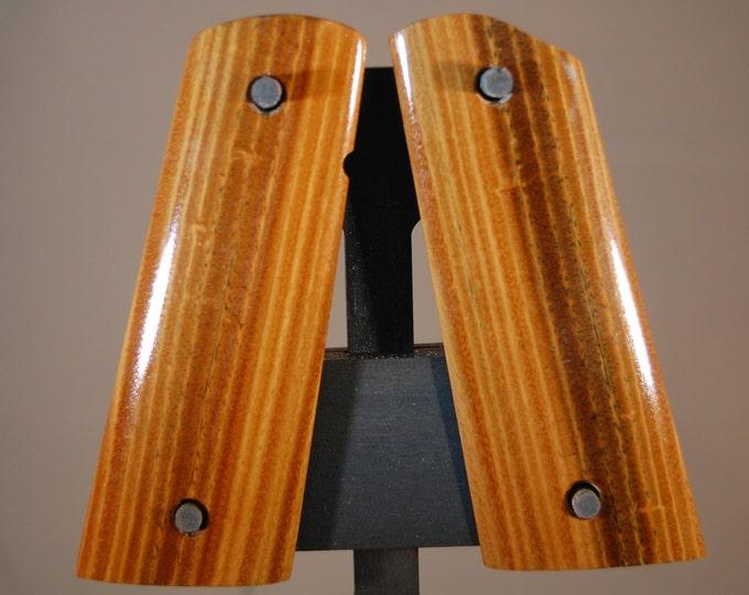 Lignum Vitae 1911 Full size Grips (H4)