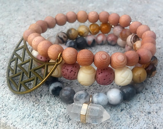 Soul Stack - FreeSpirit || Beaded Bracelet Stack