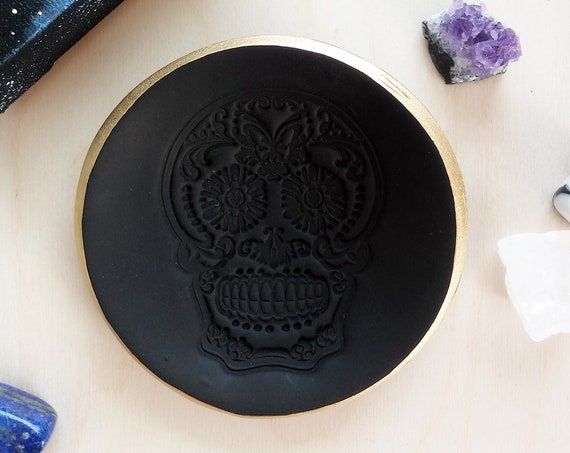 Day of the Dead / Sugar Skull Ring Dish