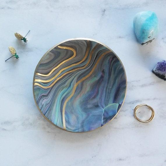 Pastel Swirl Ring Dish