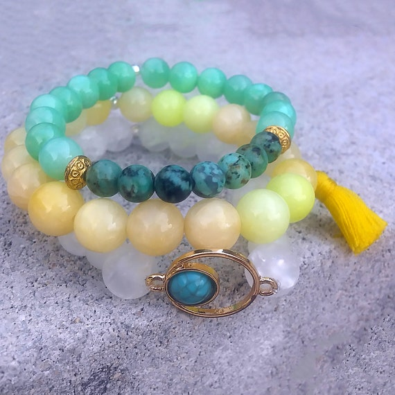 Soul Stack - PLAYA || Beaded Bracelet Stack