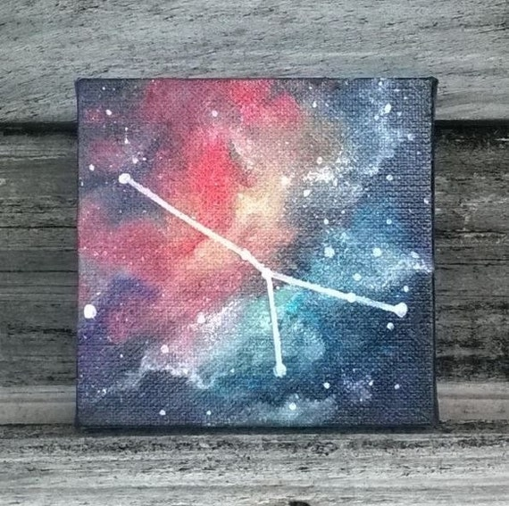 Zodiac Constellation Galaxy Painting