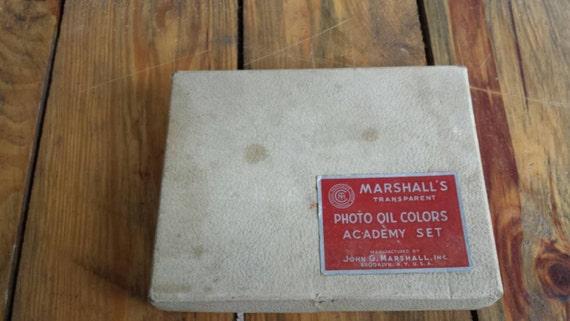 Marshalls Brooklyn Ny >> Vintage Marshalls Photo Oil Paint Set
