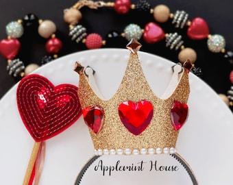 Queen Of Hearts Crown Etsy