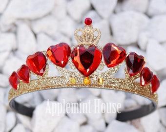 Evie Descendants 2 Crown,Descendants Crown,Descendants Costume,Disney, Queen of heart crown, Evie Descendants 2 Crown,descendants 2 costume
