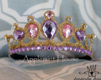 Rapunzel Crown, Rapunzel tiara, Tangled Crown, Rapunzel Birthday Crown, Rapunzel Birthday, Disney Crown, Rapunzel costume