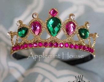 Anna Crown, Princess Anna, Frozen costume, Anna tiara, Anna Headband, Frozen Anna Costume, Anna Costume, Frozen Birthday, Disney Crown