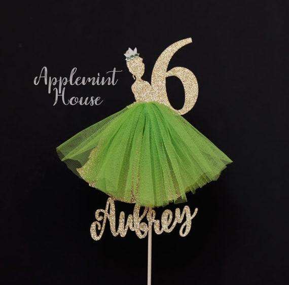 Awesome Tiana Princess Birthday Cake Topper Princess Tiana Cake Etsy Funny Birthday Cards Online Elaedamsfinfo