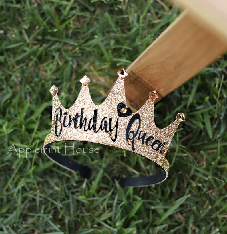 birthday crown Personalized Crown 30th birthday crownwomen image 0