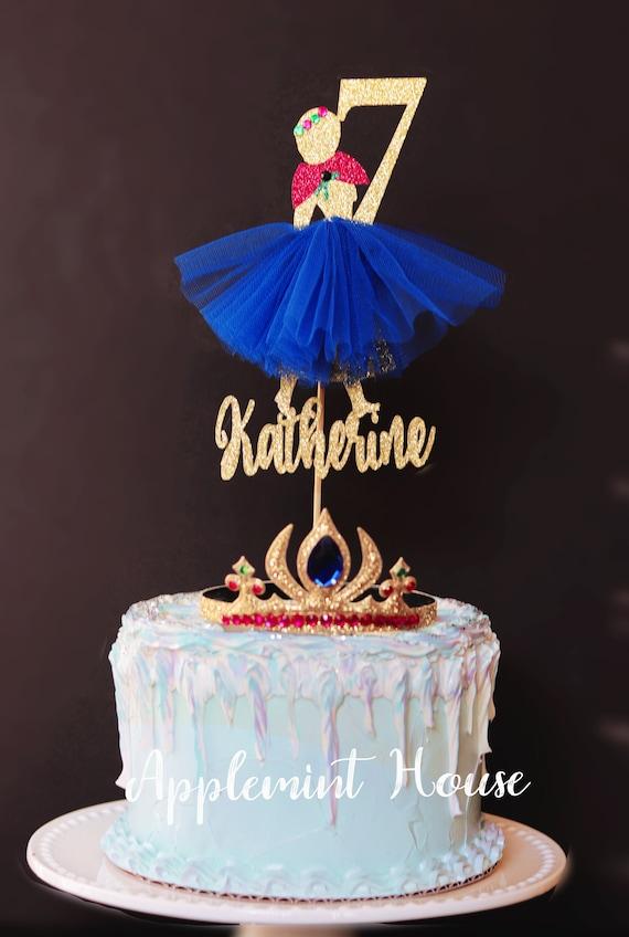 Incredible Frozen Anna Cake Topper Anna Birthday Cake Topper Anna Etsy Funny Birthday Cards Online Fluifree Goldxyz